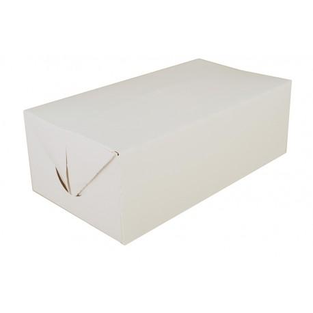 "White Food Cartons, 9"" x 5"" x 3"""