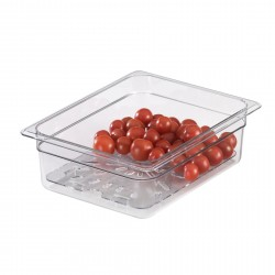 Cambro Insert Food Pan, Half, Clear, 4""
