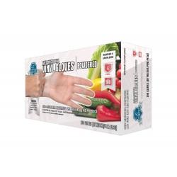 Economy Vinyl Gloves, Powder Free,  Small