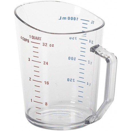 Measuring Cup, 1 Quart, Plastic
