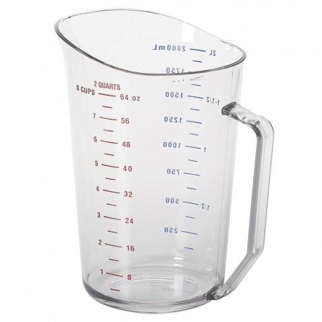 Measuring Cup, 2 Quart, Plastic