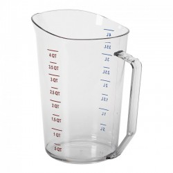 Measuring Cup, 4 Quart, Plastic