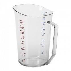 Measuring Cup, 4 Quart, Plastic