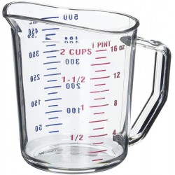 Measuring Cup, 1 Pint, Plastic