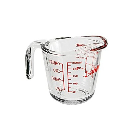Measuring Cup, 8 oz. Glass