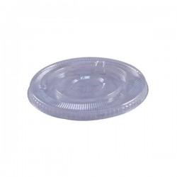 Clear Plastic Lids, Straw Slotted, Fits: 12 Squat, 16, 20, 24-oz