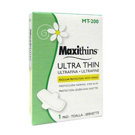 Maxithins Pads Ultra Maxi with Wings
