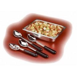 """Basting Spoon, 13"""", slotted, stainless steel, bakelite handle"""