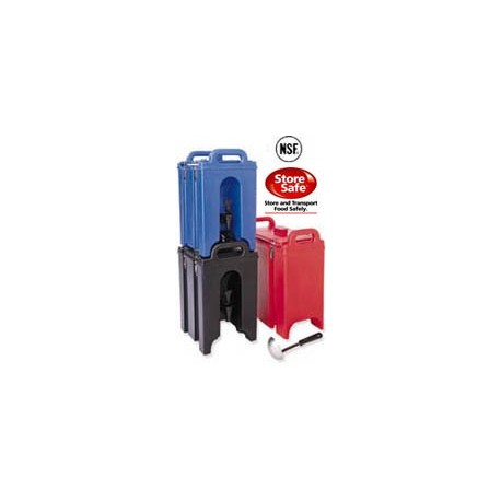Cambro Camtainers for Beverages and Soup, 5-Gallon