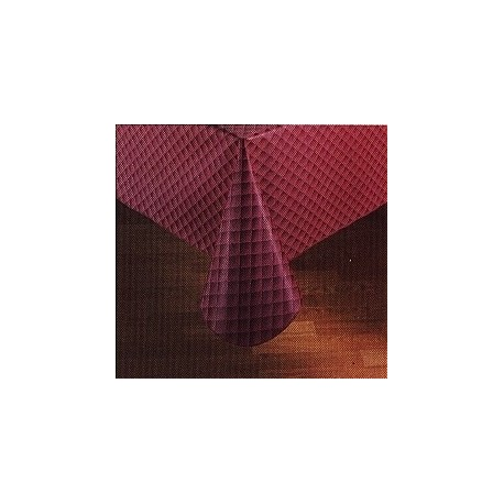 "Table Cover Vinyl, 54"" x 88"" Rectangle, Vinyl 4 gauge"