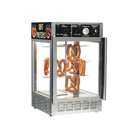 Combination Pretzel Oven and Humidified Merchandiser Cabinet