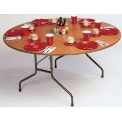 "Folding Table, 60"" Round"