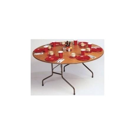"Folding Table, 60"" Round"