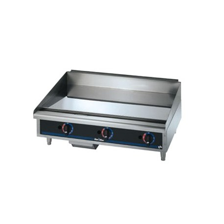 """Griddle, Countertop, Thermostatic, Gas, Chrome, 36"""""""