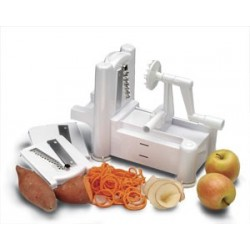 Spiral Vegetable Slicer, manual, table top