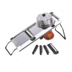 Mandolin Vegetable Slicer, Manual, Stainless Steel