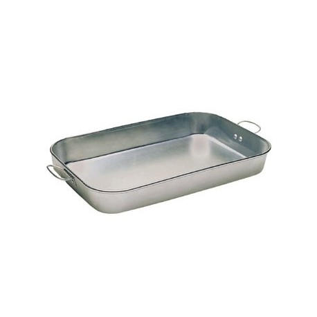 """Bake Pan, 11""""  x 17""""  x 2-1/4"""", Drop Handled, Aluminum"""
