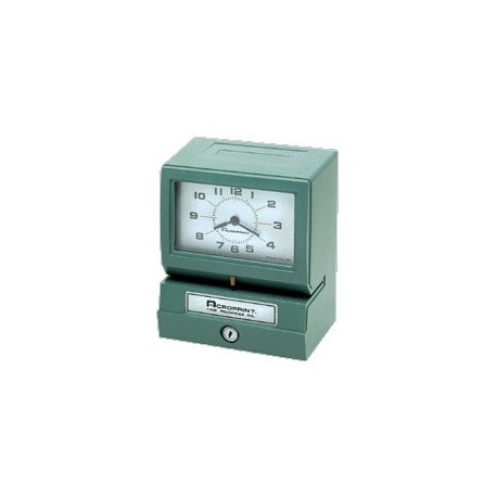 Electric Print Time Clock Recorders
