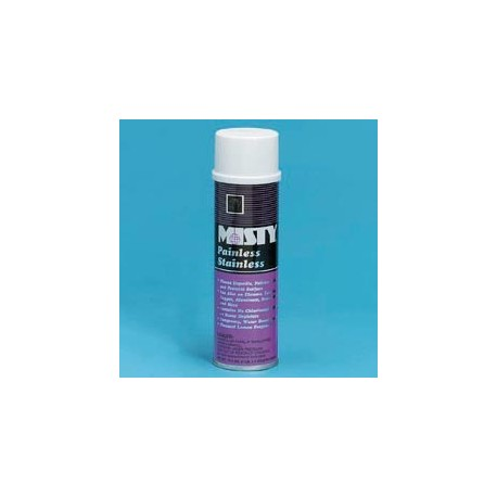Misty Painless Stainless Steel Cleaner, Water Base