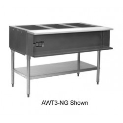 Steam Table, Gas,  48 in.