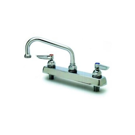 "Faucet, 12"" swing nozzle, deck mounted"