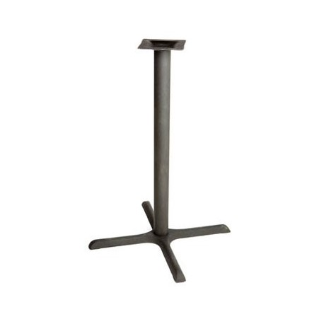 "Table Base, 36"" x 36"" Claw Foot, Pub Height"