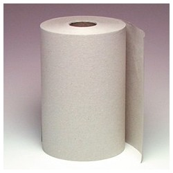 "Brown Dispenser Roll Towels  8"" x 630'"
