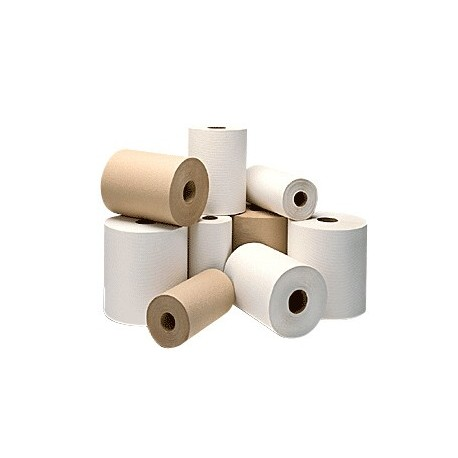 "White Dispenser Roll Towels  (Proprietary)  7 1/2""x 800'"