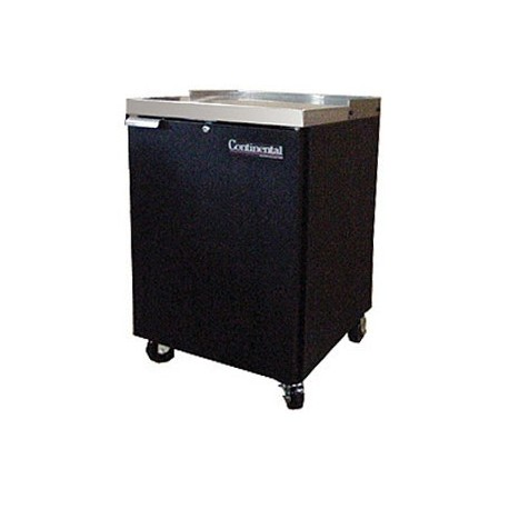 "Backbar Cooler, 24"", 1-Door, Black Exterior"
