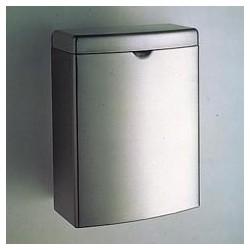 Contura Sanitary Napkin Disposal Receptacle, Stainless
