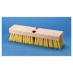 Cream Polypropylene Deck Brush