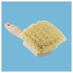 White Tampico Utility Brush