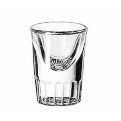 1 OZ Flutted x No Line, Shot Glasses