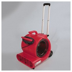 Sanitare Commercial Three-Speed Air Mover with Built-On Dolly