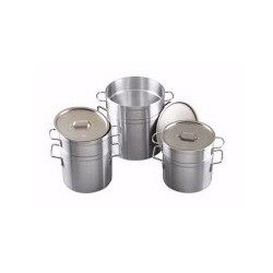 Aluminum Double Boiler 8-1/2 Quart