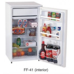 Summit Refrigerator Freezer Single Door