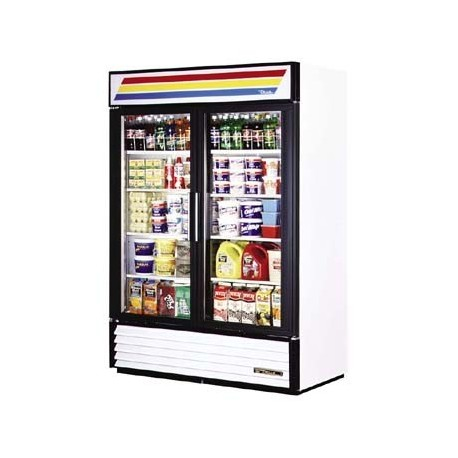 Refrigerated Merchandiser, Two-Section, 49 cu. ft.