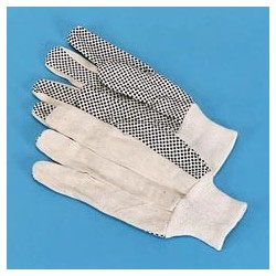 PVC Dotted Canvas Gloves