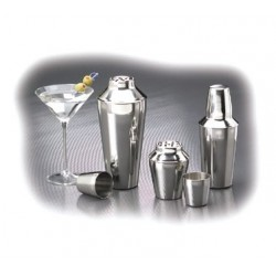 Stainless Steel Shaker Cup Set 16 oz.