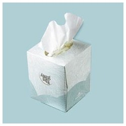 Angel Soft PS Facial Tissue Cube Box