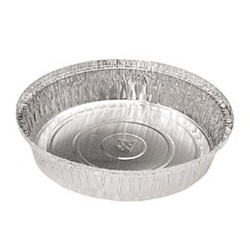 Round Aluminum Take-Out Pans, 7""