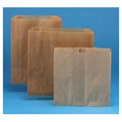 Kraft Waxed Paper Receptacle Liners