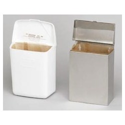 Convertible Sanitary Napkin Receptacle, S.S.