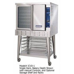 Turbo-Flow Convection Oven, Gas, 1-deck