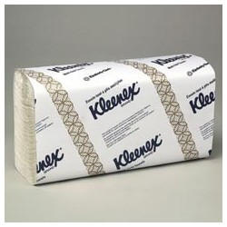 Kleenex MultiFold Hand Towels, White, 1-Ply