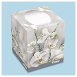 Kleenex Boutique Floral Facial Tissue, 36 per case
