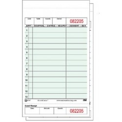 Carbonless Guest Checks, 2-Part, 13- Lines