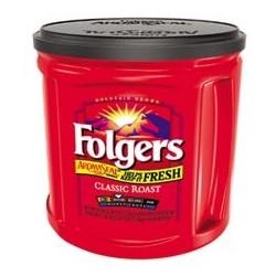 Folgers 100% Classic Roast Ground Coffee