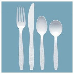 Forks Plastic Heavy Weight, Polystyrene