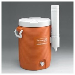 Insulated Water Cooler, 10-Gallon